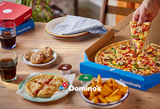 Order Domino's Pizza and Get 30% Off Orders Over €30