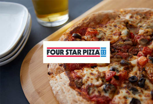 Treat the Family to Deals from €25 at Four Star Pizza