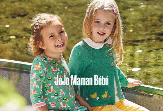 Find a Discount of 20% Off Gear Outlet at JoJo Maman Bebe