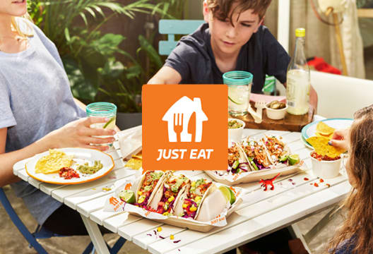 Save Up to 30% Off Selected Takeaways Including Chinese, Italian and Indian at Just Eat