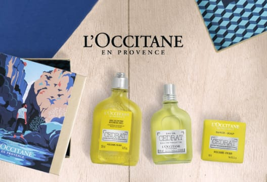 Register for the Newsletter for a 10% Discount on Your First Order at L'Occitane