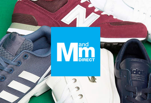Shop the M and M Direct Warehouse Clearance for up to 80% Off Clothing, Trainers, Accessories & More