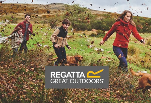 Discover 70% Off in the Regatta Outlet