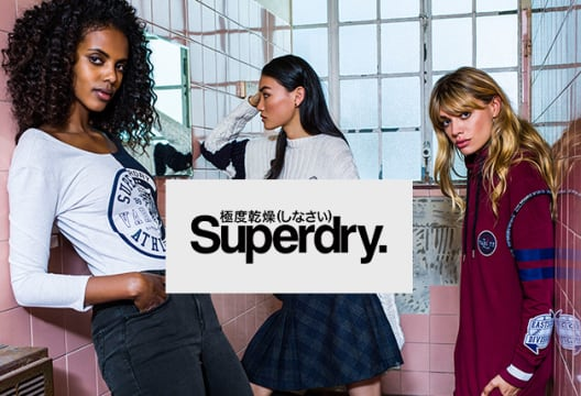 Shop Superdry for 50% Off in the Sale