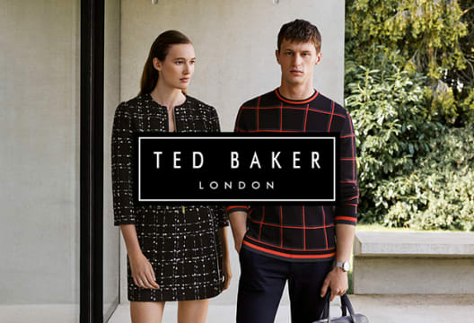 Men's Clothing with 50% Off in the End of Season Sale at Ted Baker