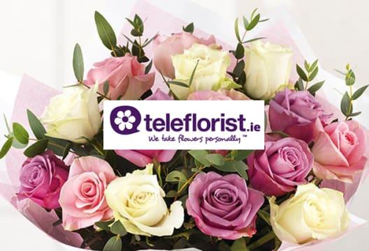 Save 12% on teleflorist.ie Flowers