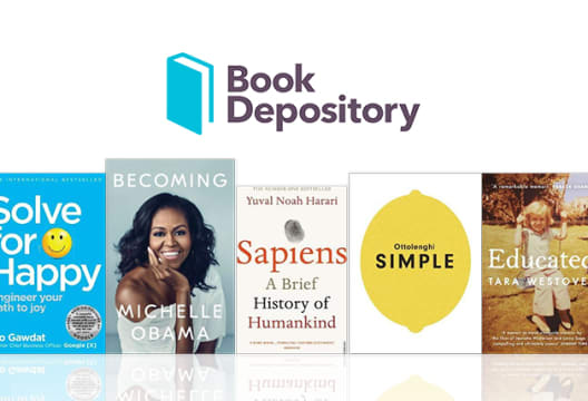 Get 10% Off Every Order when Shopping at The Book Depository